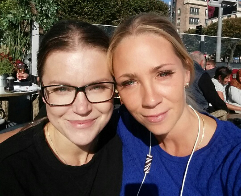 Jessica Brown & Stina Grälls