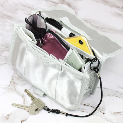 Väskinsats, Medium Silver