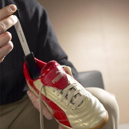 Mätsticka till skor och fötter