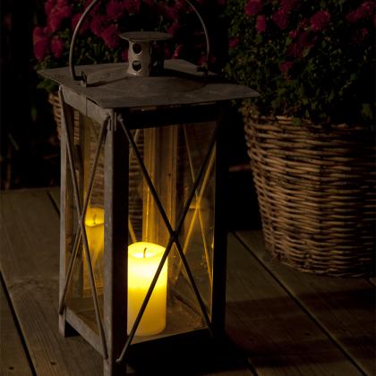 Ljus med skymningssensor