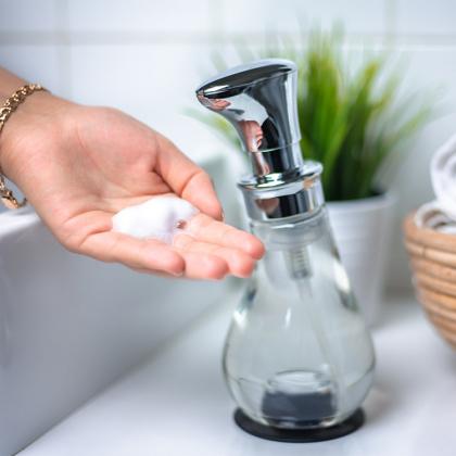 Tvålpump med skum