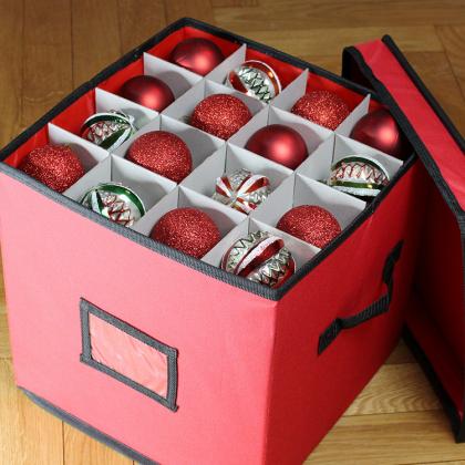 Väska för julkulor