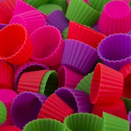 Knäckformar i silikon 40-pack