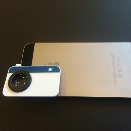 Makrolins för mobilkameran