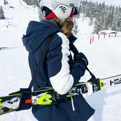 Bärrem för skidor