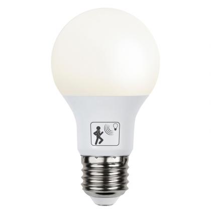Glödlampa med rörelsesensor