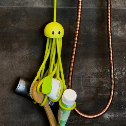 Schampo- och flaskhållare Octopus