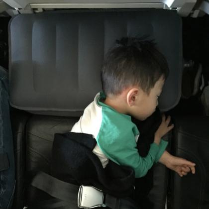 Fly-Tot, flygstolsdyna för barn