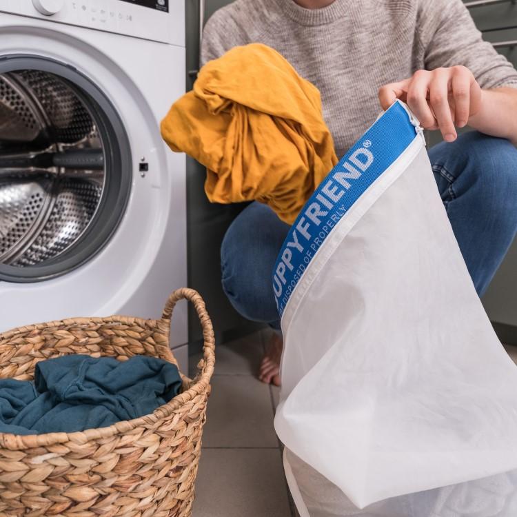 Miljösmart tvättpåse