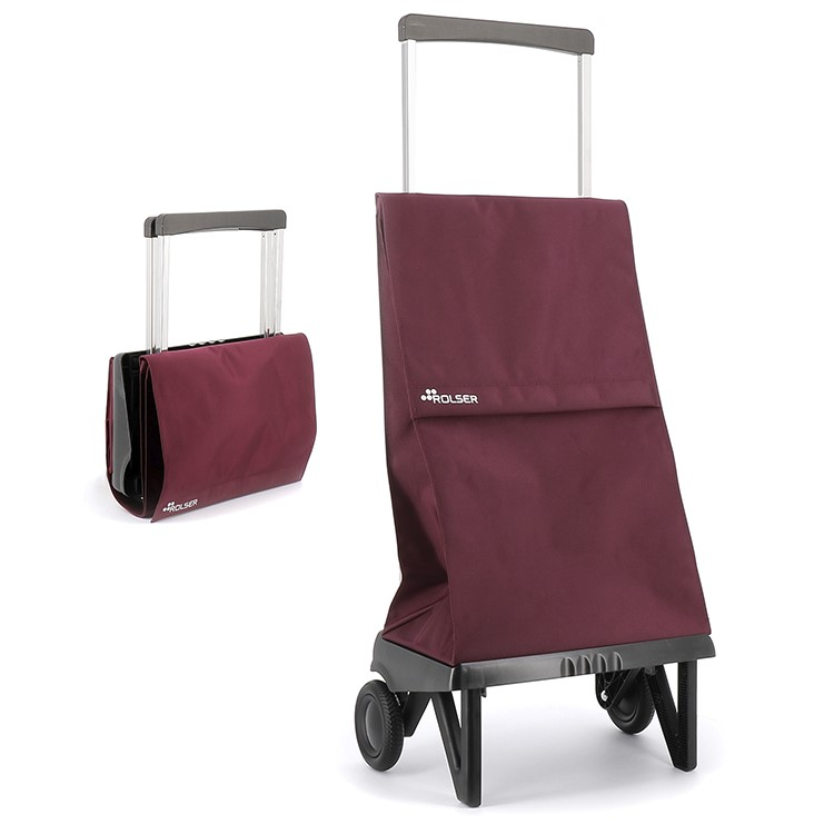 Hopfällbar shoppingvagn Rolser