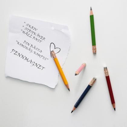 Penna med magnet 5-pack