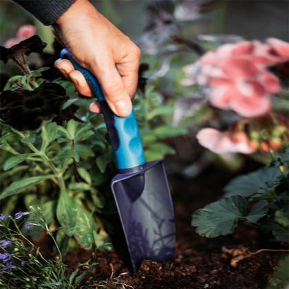 Ergonomisk planteringsspade