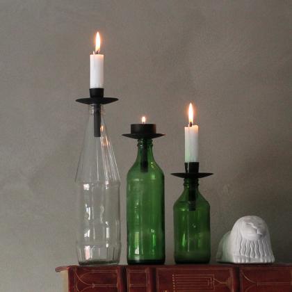 Ljushållare till flaskan