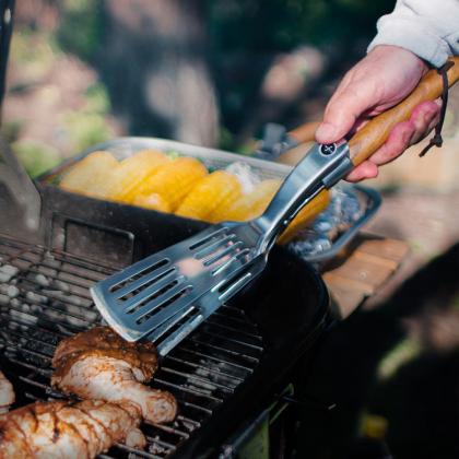 Grillspade med grilltång, Sagaform