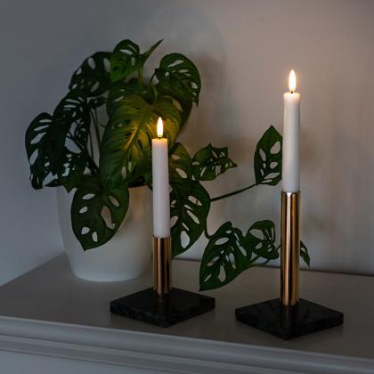 Premium LED korta antikljus