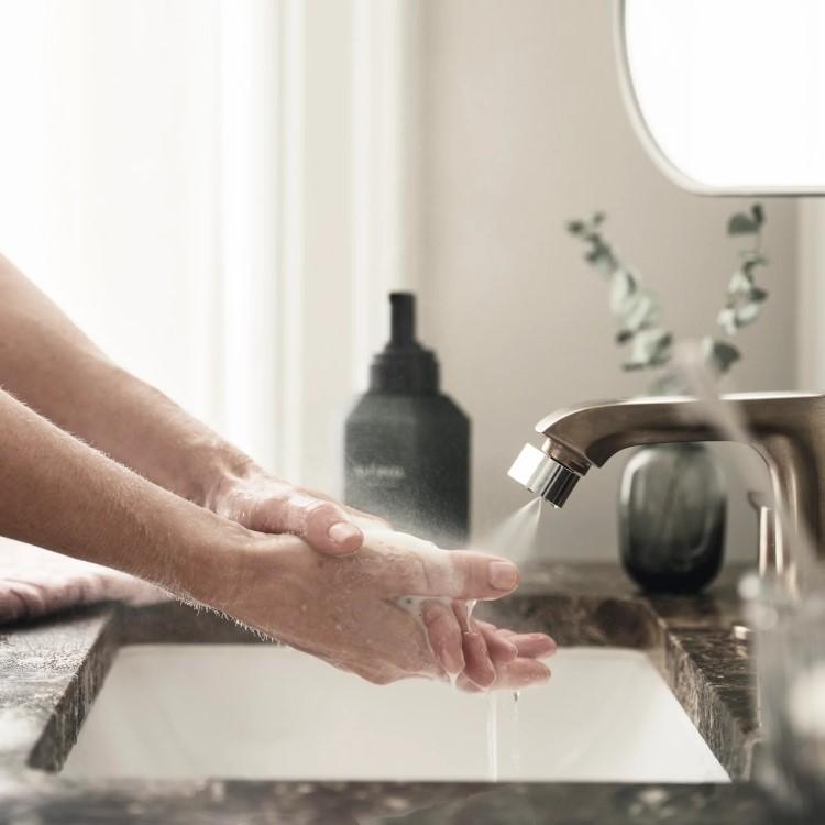 Vattensparande munstycke till kranen