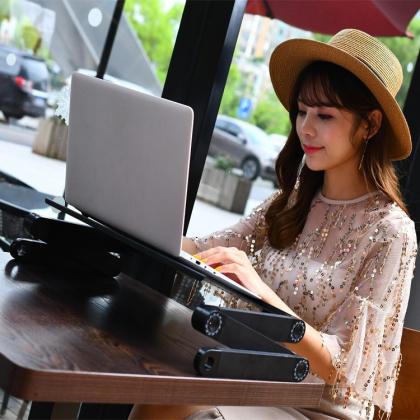 Laptopbord, höj- och sänkbart