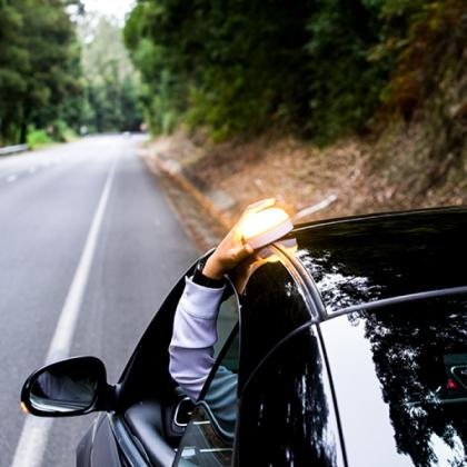 Varningslampa till bilen, Help Flash