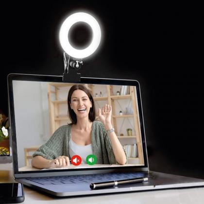 Ringlampa till dator