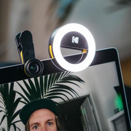 Ringlampa till mobilen