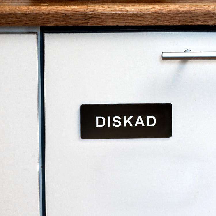 Diskmagnet Diskad Odiskad