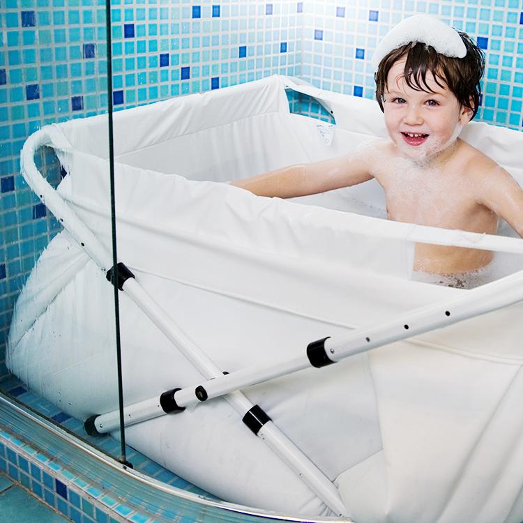 badkar stort barn