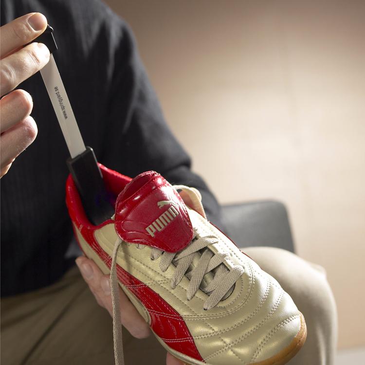 mäta innermått skor