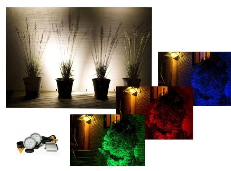 Kända Trädgårdsbelysning RGB RS-13