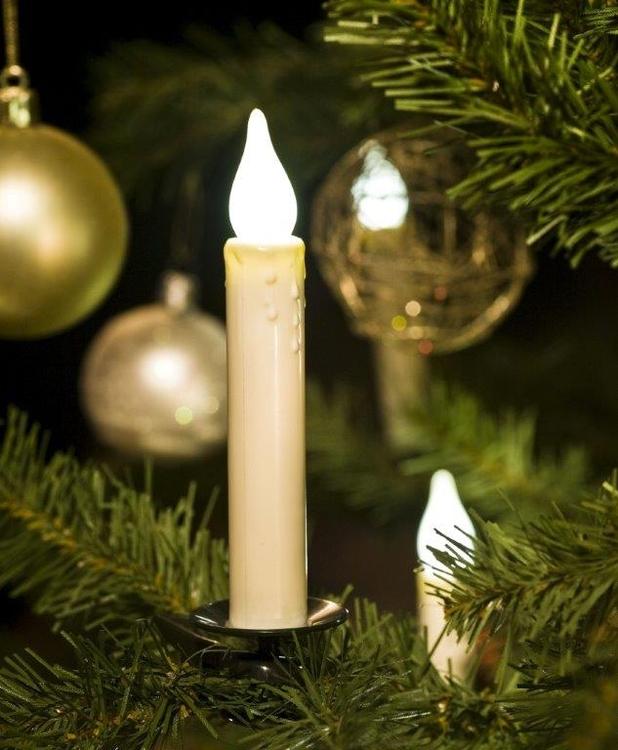 Julgransbelysning Med Fj 228 Rrkontroll