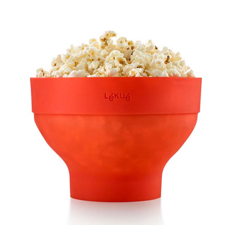 poppa vanliga popcorn i micron
