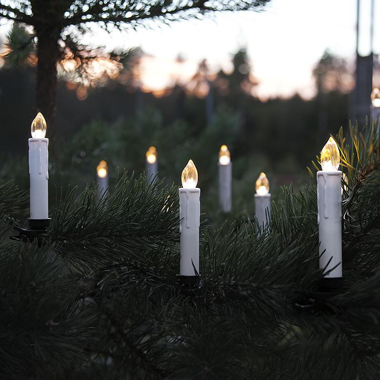 Nya Trådlösa julgransljus med fjärrkontroll HL-62