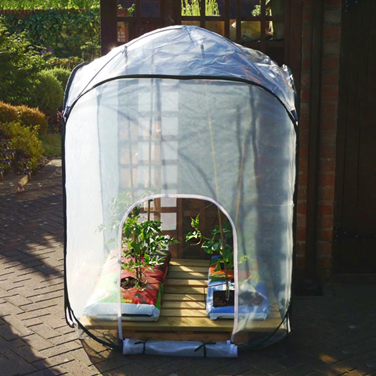 Hopfällbara växthus. Storlek medium och large. Från 415 kronor