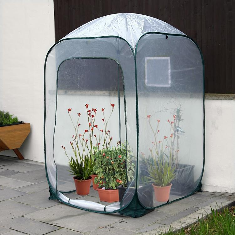 små växthus plast