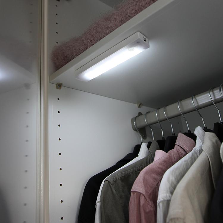 Garderobslampa Med R 246 Relsesensor