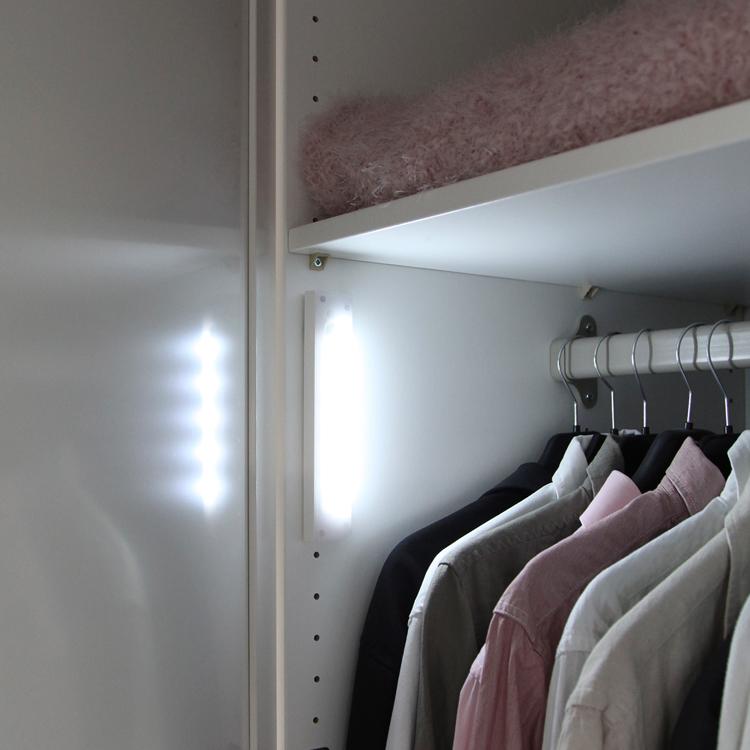 garderobslampa