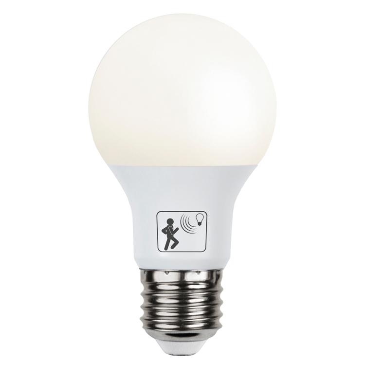 Populära LED glödlampa med rörelsesensor LE-07