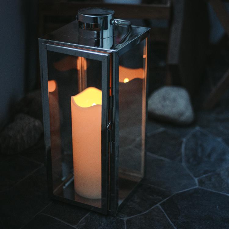 Helt nya Blockljus med skymningssensor för utomhusbruk - LED | SmartaSaker LJ-65