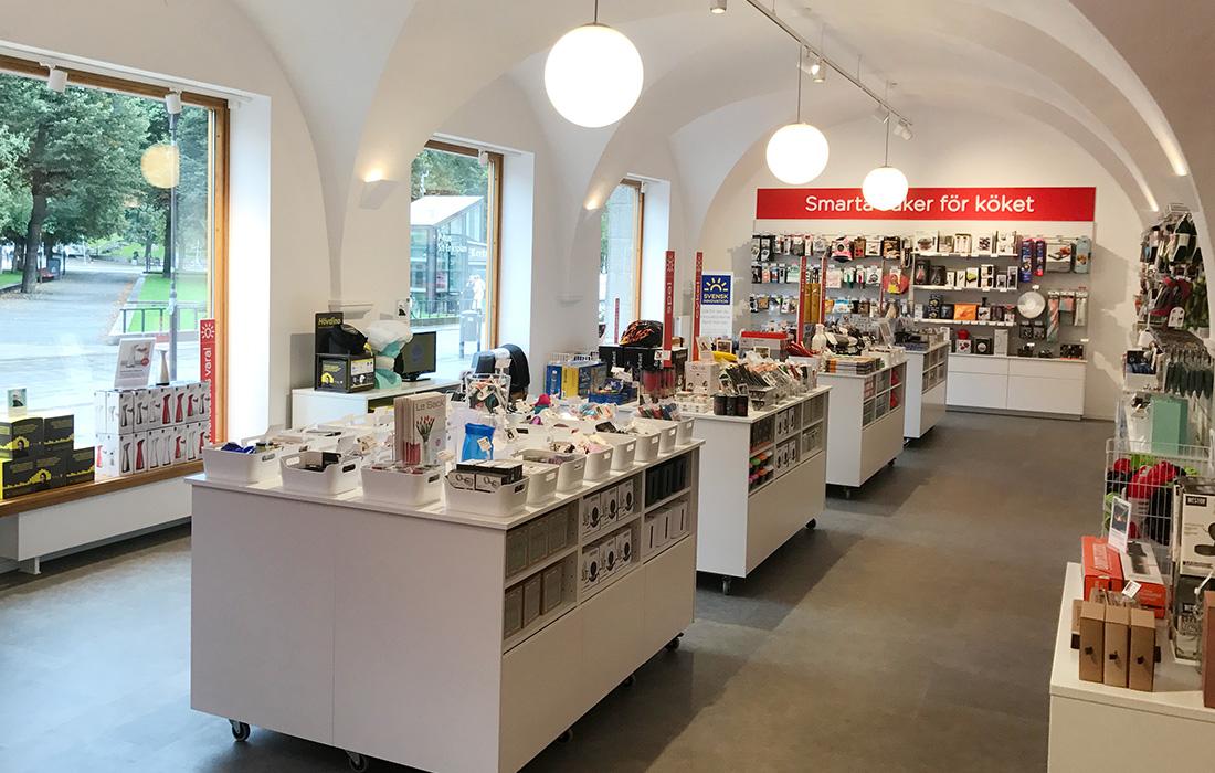 Butiker och återförsäljare