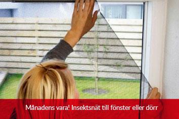 Insektsnät för dörr och fönster