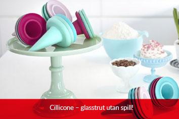 Cillicone - glass utan spill