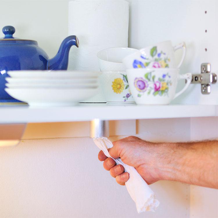 Rivröret - hållare för hushållspapper