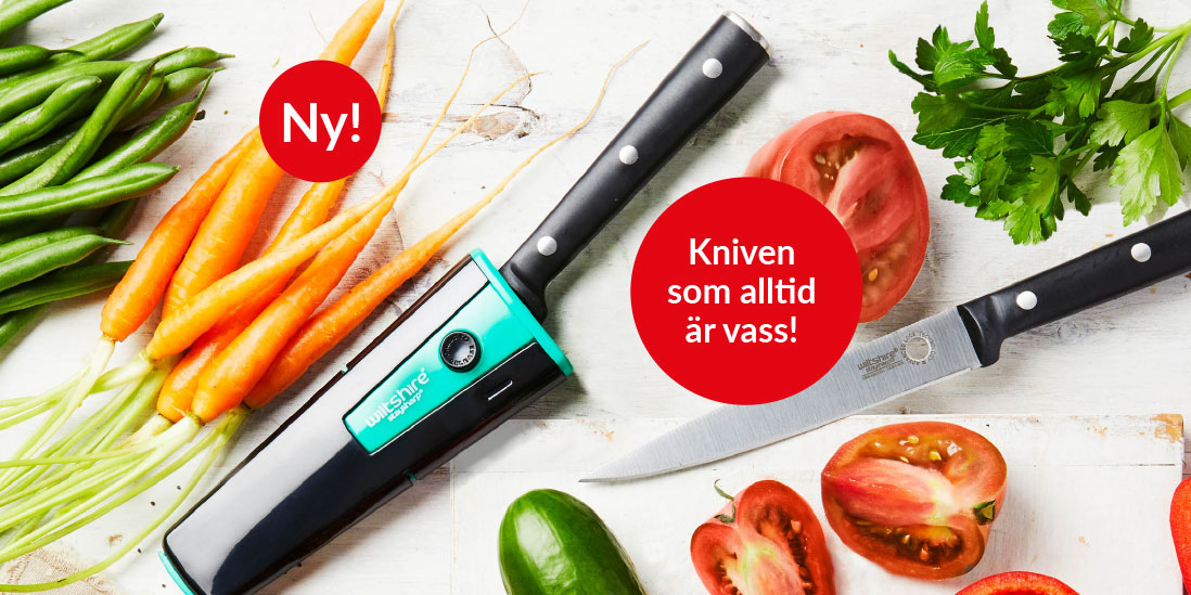 Självslipande kniv