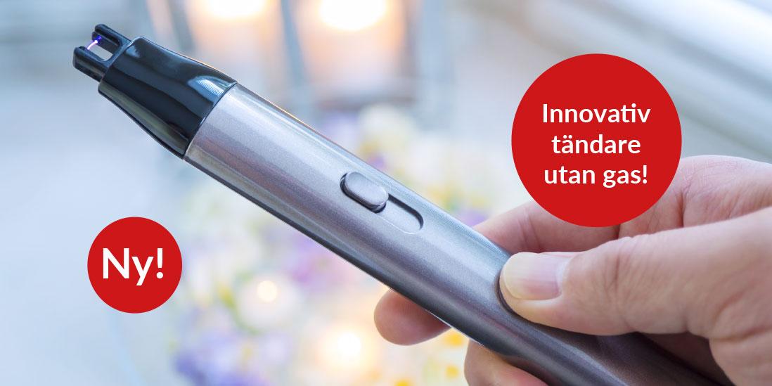 Innovativ tändare utan gas