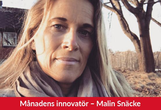 Månadens innovatör Malin Snäcke