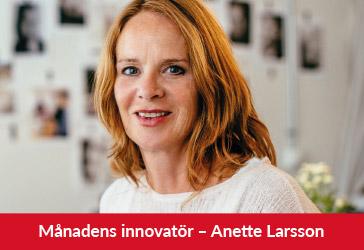 Månadens innovatör, Anette Larsson