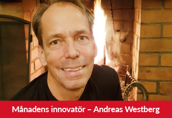 Månadens innovatör Andreas Westberg
