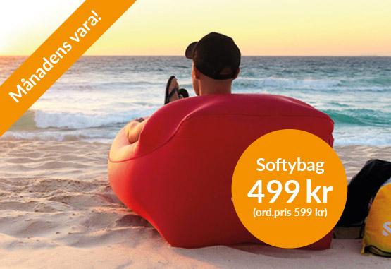 Softybag uppblåsbar soffa
