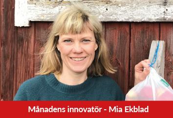 Månadens innovatör Mia Ekblad