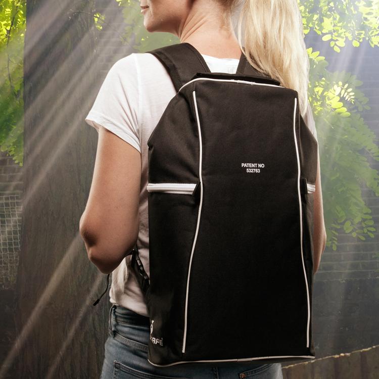 Stöldskyddad ryggsäck Twinsafe