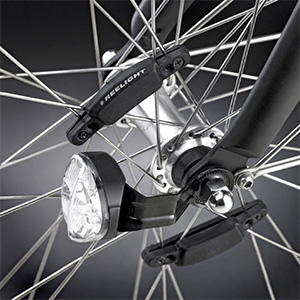 Batterilösa cykellysen